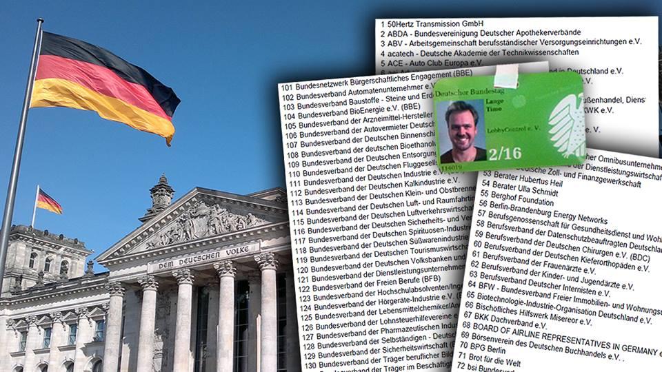 Lobbyisten im Bundestag